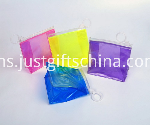Branded Logo With Zipper PVC Bags - Circle Zipper Puller (2)