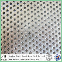 high quality screen stainless steel perforated metal plate
