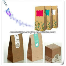Kraft Paper Bag/food paper bag packaging/Kraft bag
