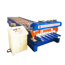 Metal Trapezoidal Sheet Roof Roll Forming Machine