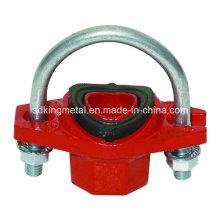 Ferro Ductil 300psi NPT T rosqueado parafuso mecânico Tee