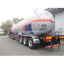 3axles lpg tank trailer lpg gas trailer