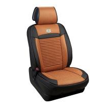 Car Seat Cover 3D Shape Four Season Leather and Lemon Grass