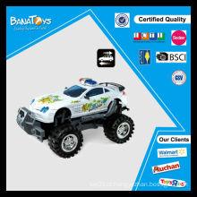 Novo design criança brinquedos fricção poder polícia cross-country carros