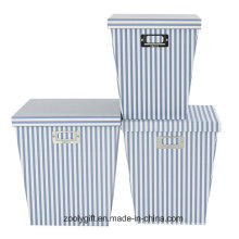 Wholesale Printing Paper Organizer Storage Gift Boxes with Lid