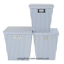 Подарочные коробки для хранения подарочных коробок для документов с крышкой