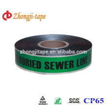 green underground detectable warning tape