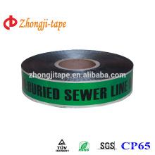 green underground detectable warning tape