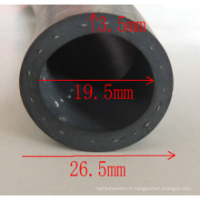 EPDM Extrusion 19,5 mm Diamètre Caoutchouc Tube
