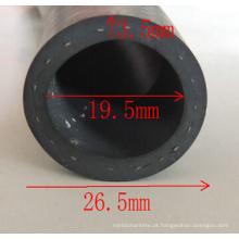 Tubo de borracha de extrusão de EPDM de 19,5 mm de diâmetro