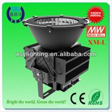 Новый дизайн!!! Светодиодный свет залива 500 Вт для теннисных кортов
