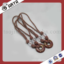 decorative rope with beaded for curtain bandage