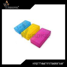 Colorido ajustável alvo plástico 18650 caixas de armazenamento de bateria para Li-ion 18650 baterias