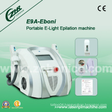 Portable 2handles Super Power IPL RF Elight Hair Removal Machine