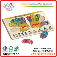 Wooden Educational Puzzle - Hand Puzzle