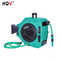 A18 50Ft Retractable Automatic Wall Mount Outdoor Spray Water hose reel