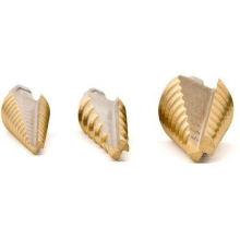 3 шт. Ступенчатое сверло с титановым покрытием в алюминиевом корпусе