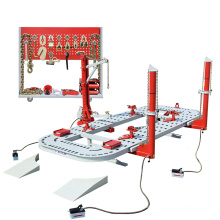 TFAUTENF 5.6 m ATU-EM3 manganese steel auto body frame machine for garage use