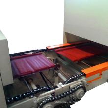 Farbe-Stein beschichtete Metallfliesen-Fertigungsstraße Farbsteinstahl-Dachziegelmaschine