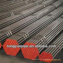 Tuyau en acier ASTM standard et tuyau d'acier sch 40