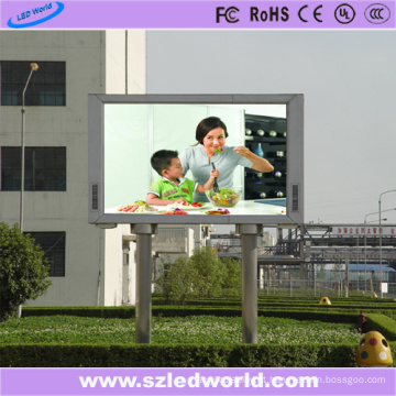 P8 Outdoor fixo LED Display Board no quadrado