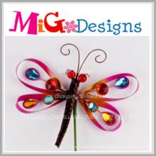 Heißer Verkauf Newely Design Metall Dragonfly Wand-Dekor