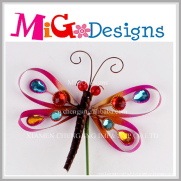 Vente chaude Newely Design en métal libellule décoration murale