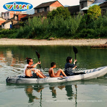 Asientos dobles sentados en Kayak superior para uso familiar