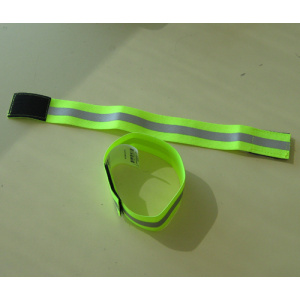 safety reflective soccer captain fabric armband