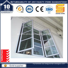 Thermal Break Aluminium / Aluminium Casement Tilt / Markise Glas Bay Haus Fenster (CW50)