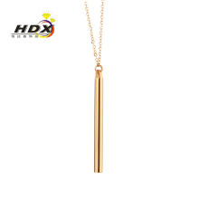Fashion Stainless Steel Jewelry Pendants Gold Necklaces Gift (hdx1129)