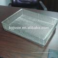 Cesta de desinfección / esterilización de desinfección de acero inoxidable