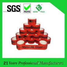 Kundenspezifisches Logo gedrucktes BOPP-klebendes Packband