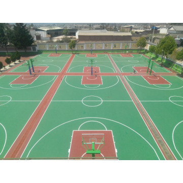 PP Outdoor Interlock Baskketball Sportfliesen