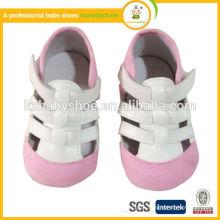 Sandálias bonitas sapatos de bebê 2015 e sandália suave bebê