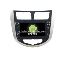 Buit-in 7'' car gps / CAR audio Player / Car multimedia stereo gps navigation oem for verna and Solaris