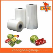 Высококачественная мягкая прозрачная стрейч-пленка lldpe для пищевой компании zhongbao