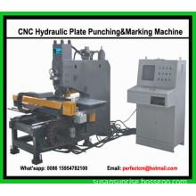 CNC Hydraulic Plate Punching and Marking Machine