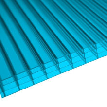 Blue 4 Wall Polycarbonate Multiwall Sheet (OEM avaliable)