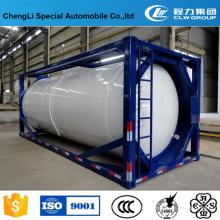 Tanque de contenedor LPT ISO de 20 pies