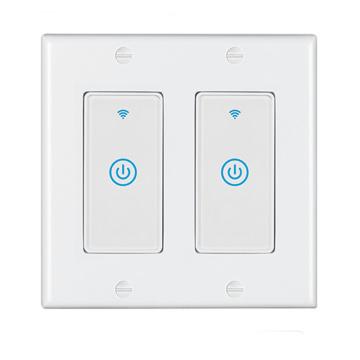 Novo switch de parede inteligente WiFi ZigBee dos EUA