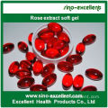 Rose extract softgel soft capsules