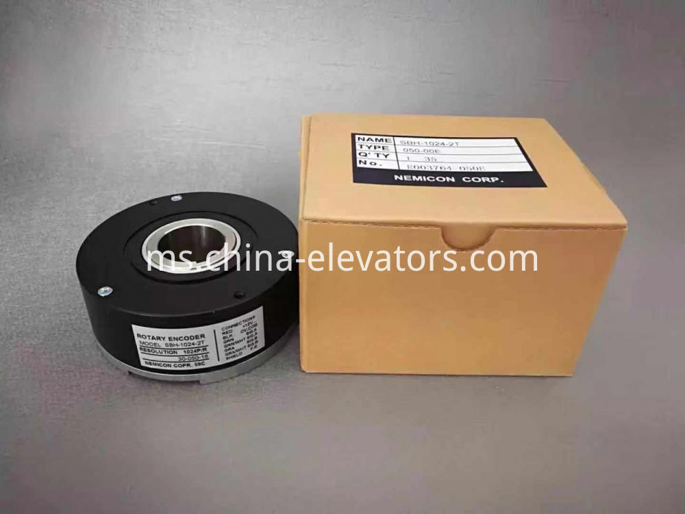 NEMICON Rotary Encoder for Elevator Geared Traction Machine SBH-1024-2T
