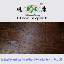 Real Wood Grain Embossed Dark Antique Multi-Layer Engineered Flooring