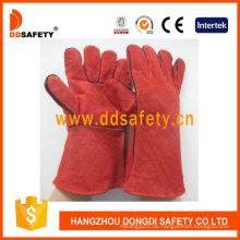 Rote Kuh Split Welder Handschuhe Dlw615