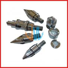 Injection screw and barrel parts (nozzel, end caps, seats, rings)