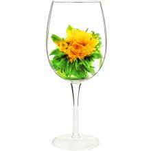 Marigold Lychee Tea Balls té floreciente para la salud