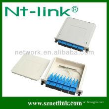 Divisor de cable de montaje en rack plc