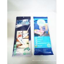 Lenços umedecidos para limpeza doméstica impressos personalizados