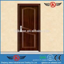 JK-P9028 pvc porte de toilette coulissante / pvc fenêtre et profil de porte extrudeuse / pvc porte matériau